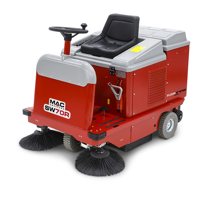 MAC SW70RB Ride-On Sweeper