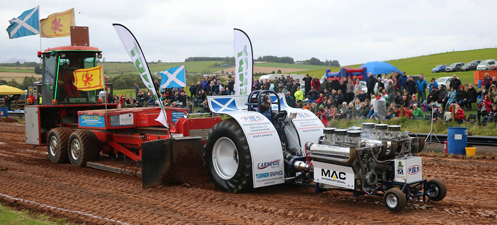 Scottish Tractor Pulling Event
