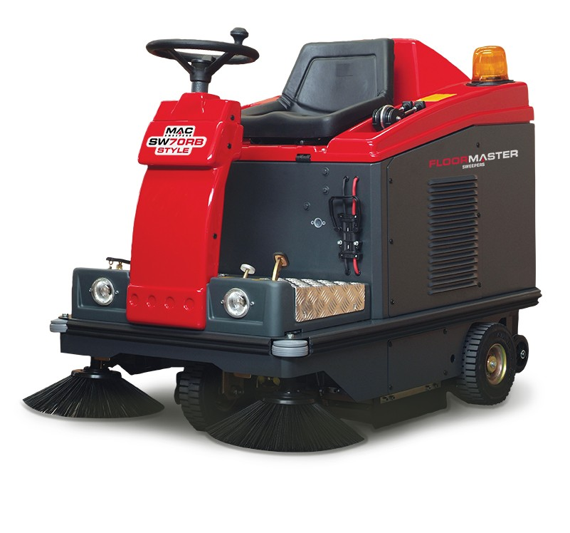 MAC SW70RB STYLE Ride-On Sweeper