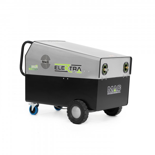 MAC ELEKTRA 24kW - 150BAR ELECTRICALLY HEATED MOBILE PRESSURE WASHER