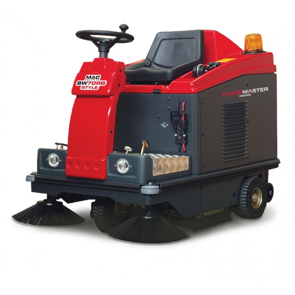 MAC SW70RD STYLE Ride-On Sweeper