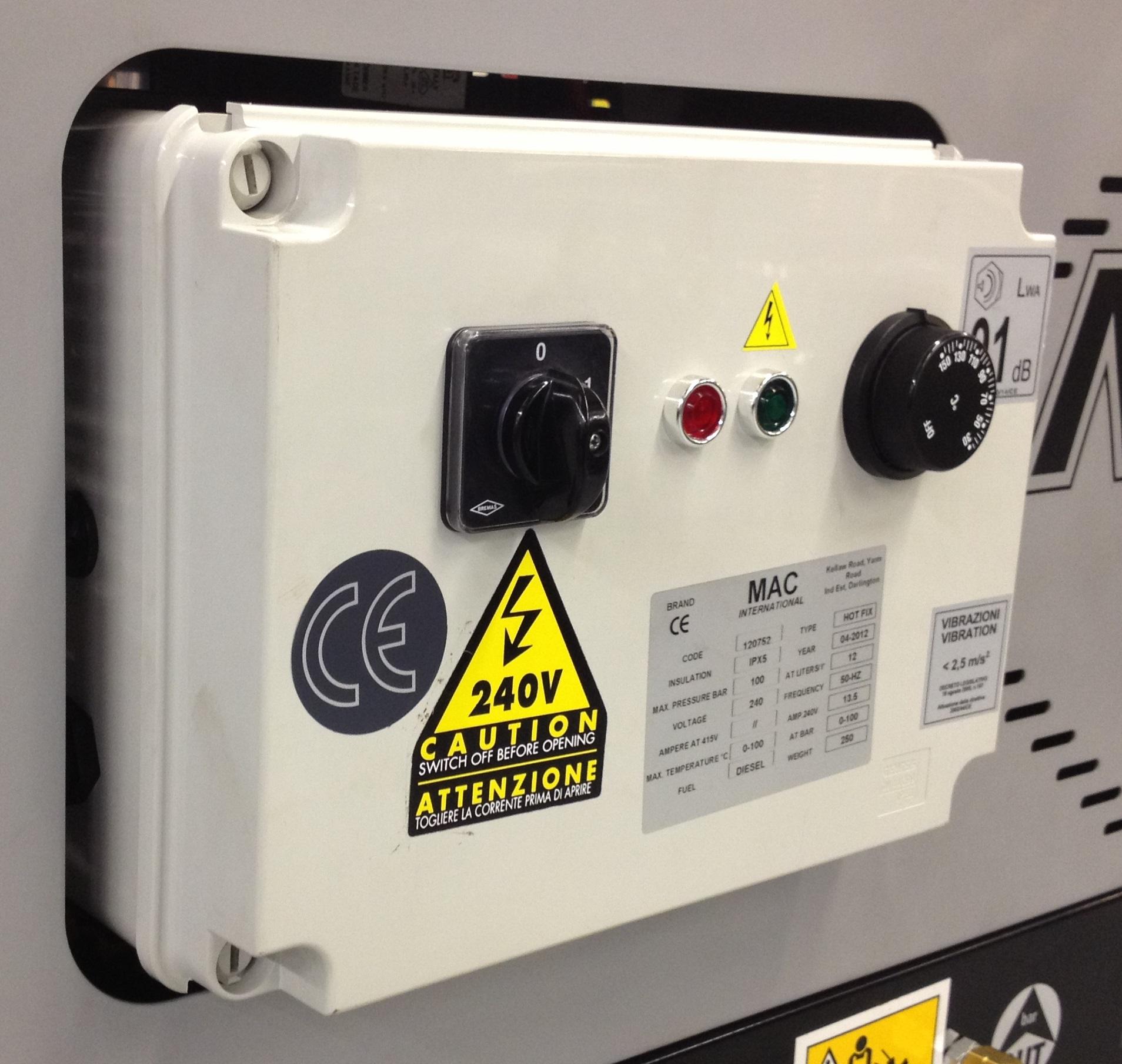 Hot Fix Control Panel