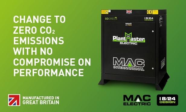 MAC Electrically Heated Pressure Washer Range