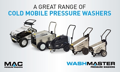 A Great Range of Cold Mobile Pressure Washers