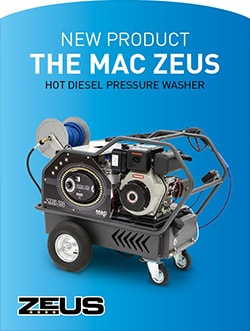 New Product - The MAC Zeus - Hot Diesel Pressure Washer